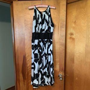 Dress Barn Keyhole Dress Size 16